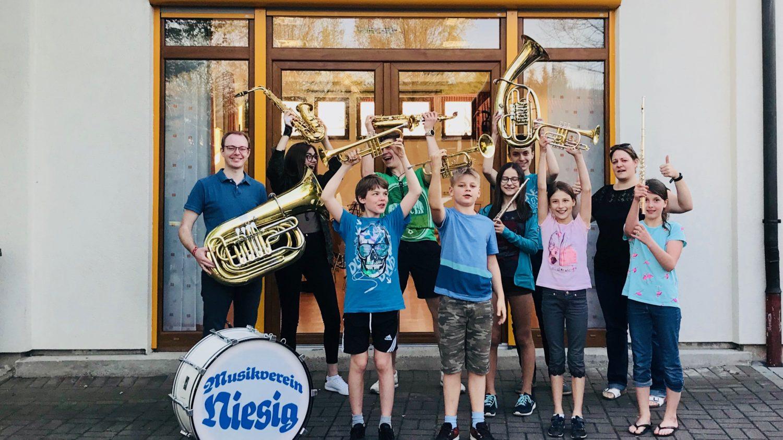 Frischer Wind im Musikverein Niesig –  Neuauflage Jugendorchester
